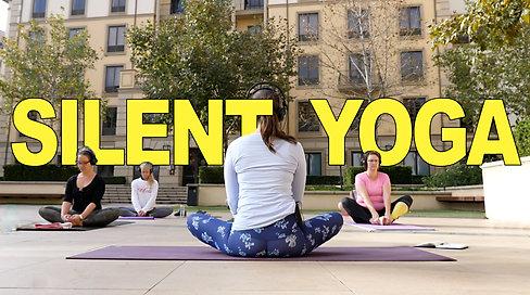 Silent Yoga cinematic video