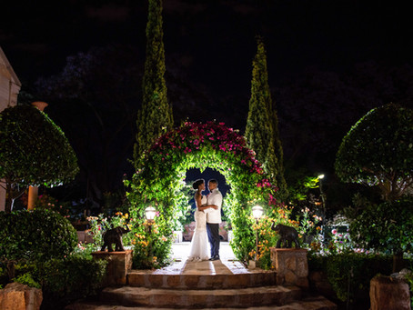 Kamo and Sne's Beautiful Shepstone Gardens Wedding