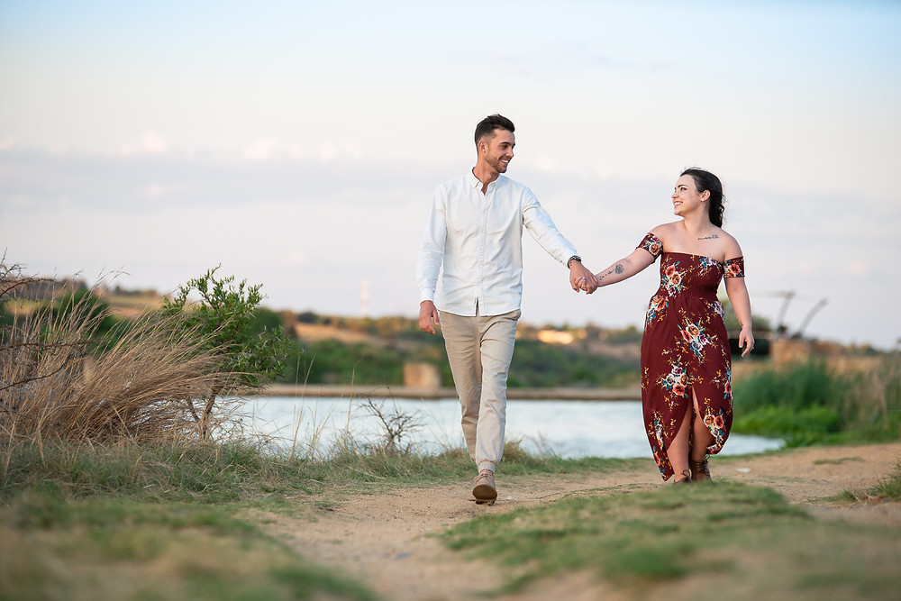 engagement shoot at cradle moon game lodge