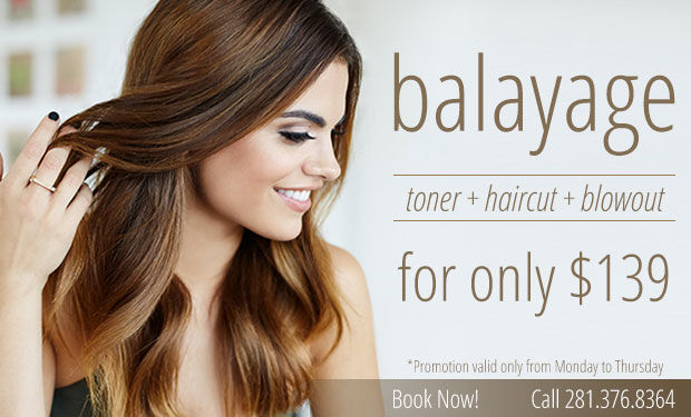 Balayage, deal, sale, highlights, haircolor