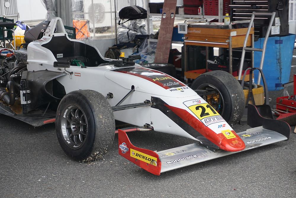 M2 HDR Racing(M2 ENGINEERING)のRYO選手の車両