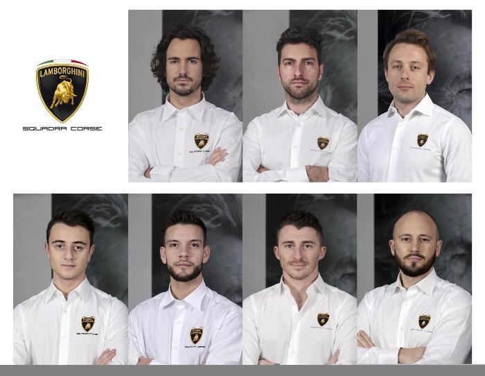 ランボルギーニ、2020年のファクトリードライバーラインナップを発表。若手2人が新加入。