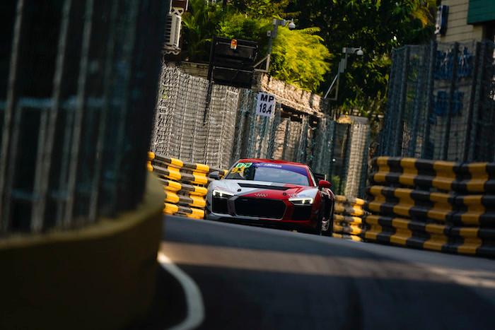 【マカオ/GT4】アウディのアレックス・アウはリタイア。Team TRCのメルセデスが1-2フィニッシュを決める。