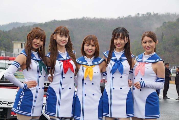 岡山国際サーキット レースクイーン 2019