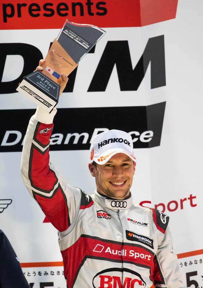 アウディ、SUPER GT×DTM特別交流戦 レース2でデュバルが3位表彰台を獲得