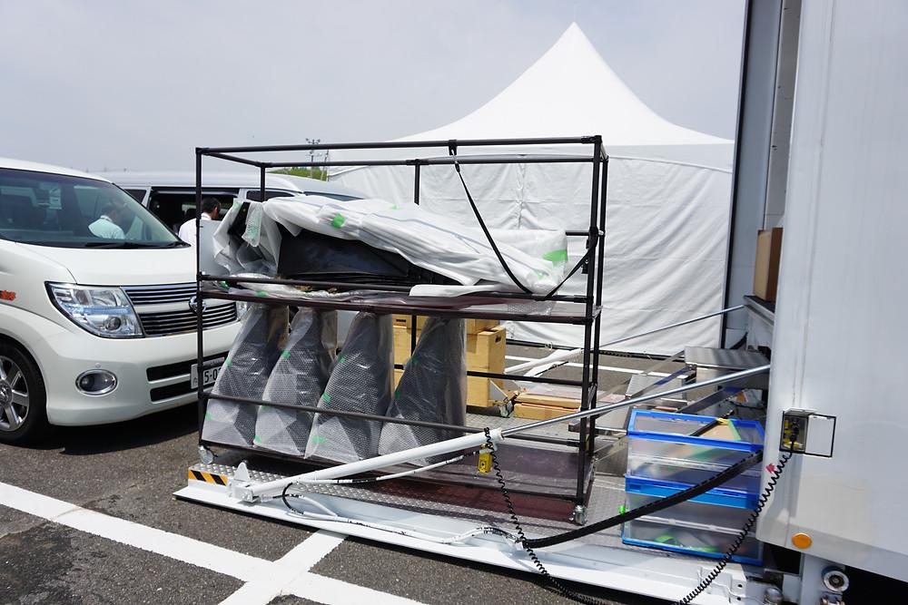 FIA-F4 F110のスペアパーツ