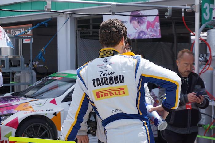 TAIROKU Racing with B-Max Engineering レーシングスーツ 背中