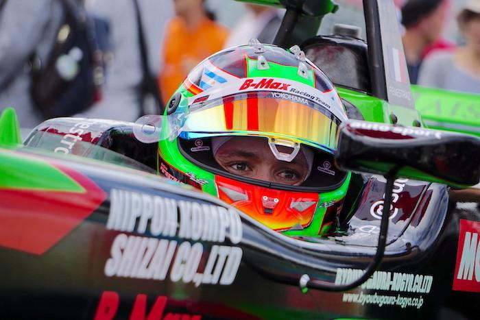 全日本F3王者のサッシャ・フェネストラズがスーパーフォーミュラ「合同テスト・ルーキードライバーテスト」に参加!! チームはKONDO RACING。
