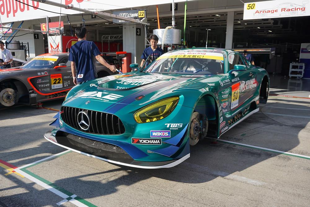 メルセデスAMG GT3/Arnage Racing 公開車検