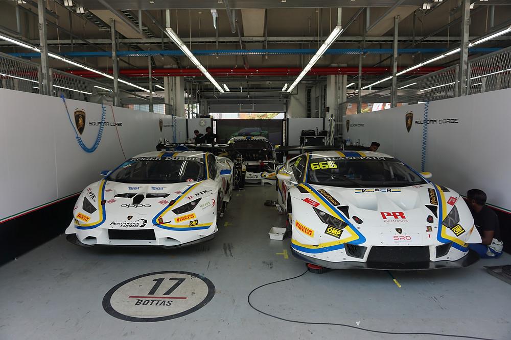 Vincenzo Sospiri Racing 根本悠生 ランボルギーニ・スーパートロフェオ