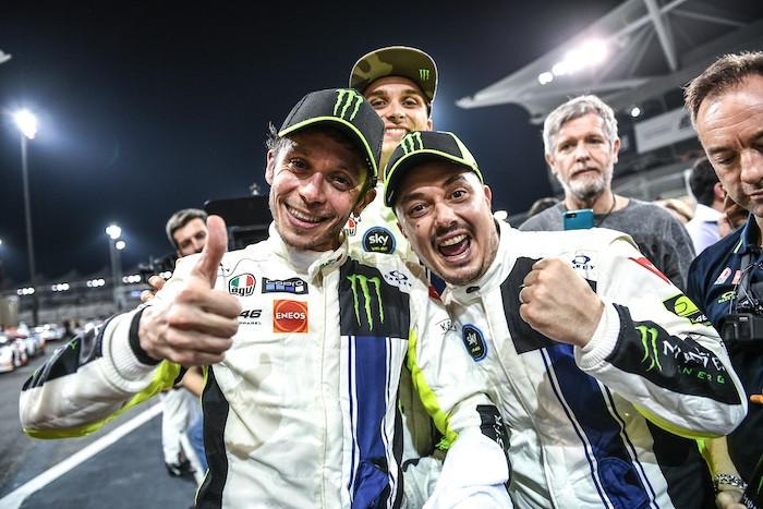 ガルフ12時間レースはアウディが完勝!! フェラーリのバレンティーノ・ロッシは総合3位