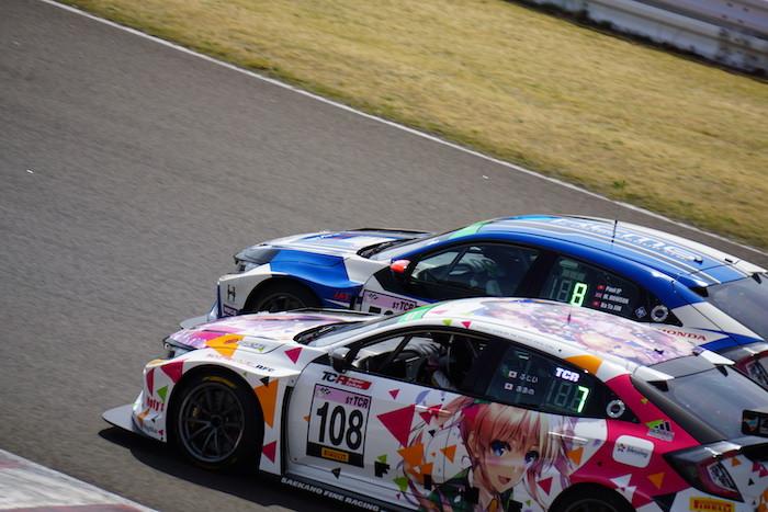冴えカノFineレーシング with RFC / No108 シビックタイプR TCR