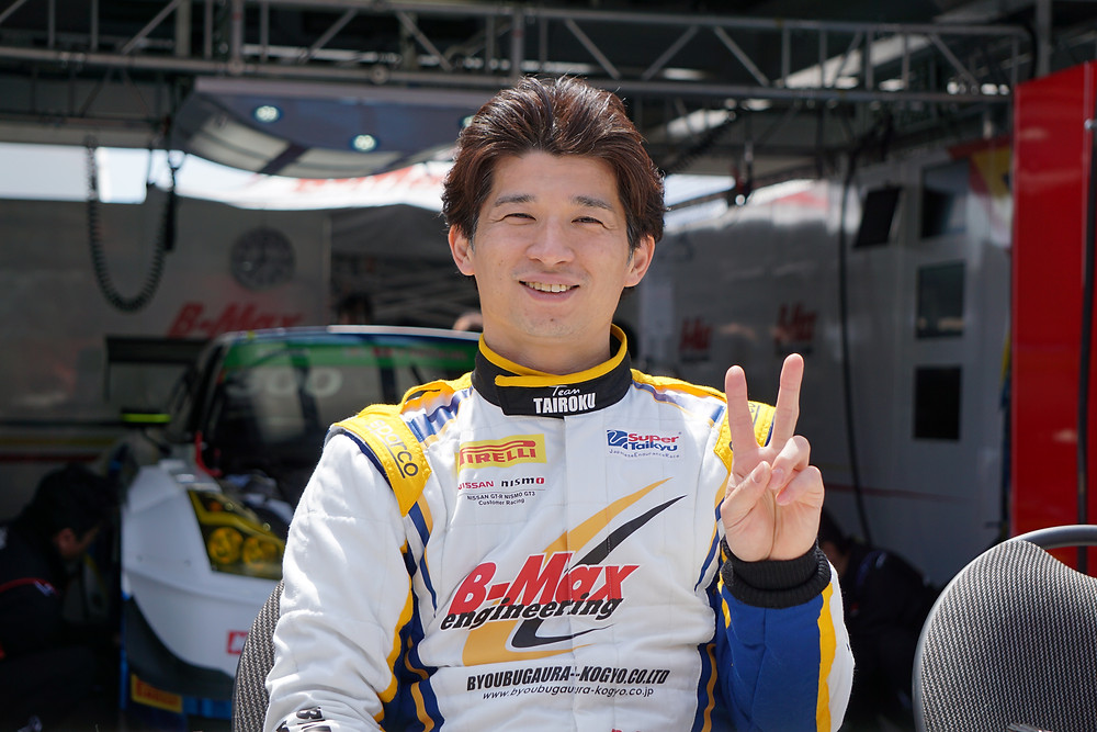 山口大陸選手(TAIROKU Racing)