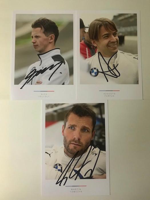 BMW Team Schnitzer ドライバーカード