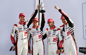 アウディスポーツ、デイトナ24時間レースで表彰台を獲得。