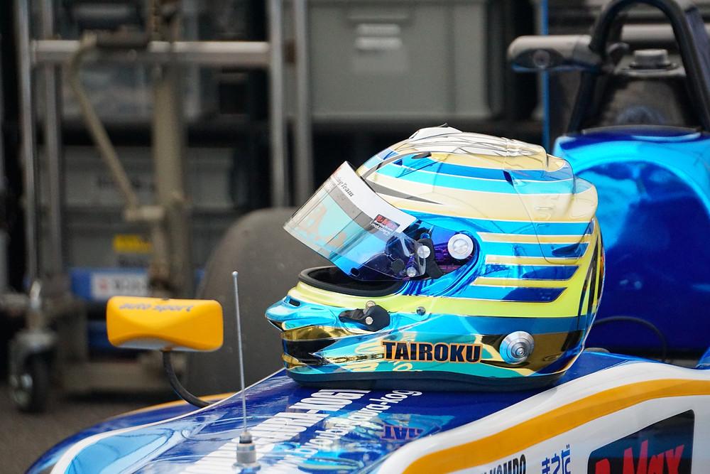 TAIROKU Racing 山口大陸選手のヘルメット