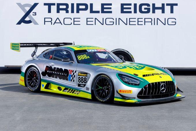 トリプルエイト・レースエンジニアリング、バサースト12時間レースのプロクラスに参戦するドライバーを発表。