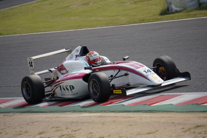 桜井孝太郎 FIA-F4 (ZAP SPEED)