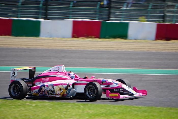 2019年のFIA-F4 #9 ATEAM Buzz Motorsportの塩津佑介選手