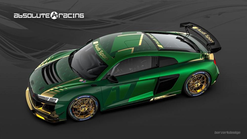 アブソリュート・レーシング、2020年型アウディR8 LMS GT4でGTワールドチャレンジ・アジアにフル参戦!!