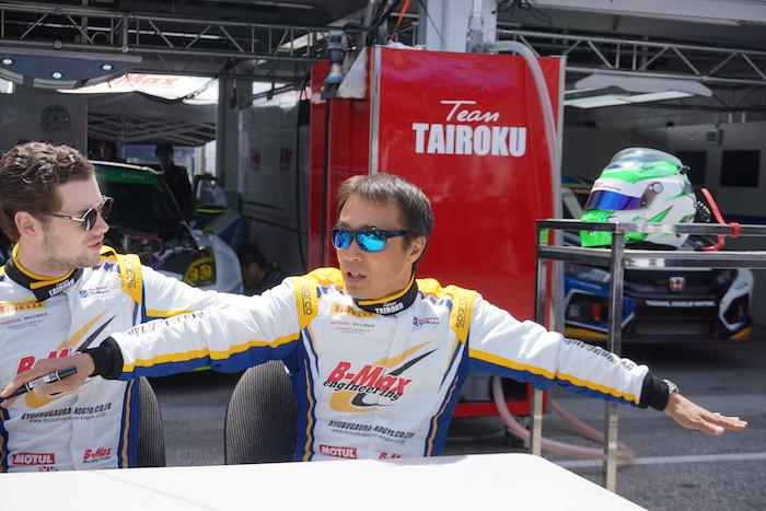 TAIROKU Racing 監督兼Dドライバーの高木真一選手