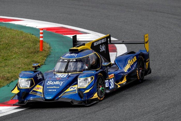 東京オートサロン2020のグッドイヤーブース。Jota Sportのオレカ07(LMP2)も展示!!