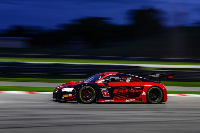 昨年の王者は速かった。Audi Sport R8 LMS Cup 第9戦予選PPはハリアント!!