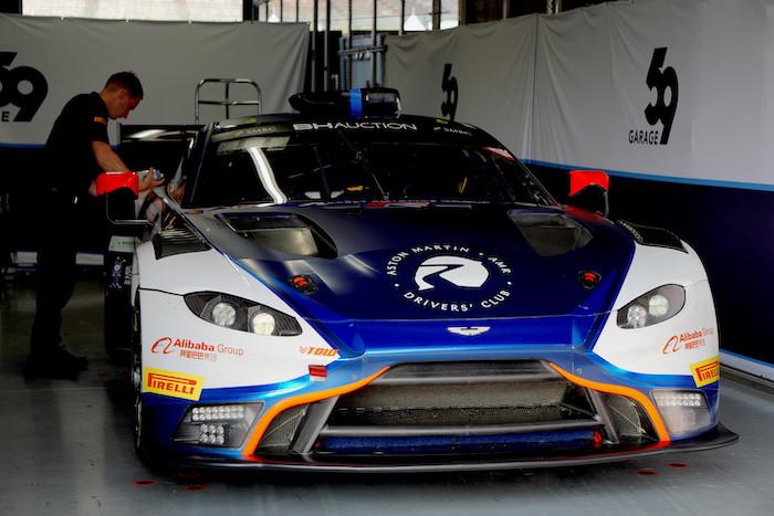 アストンマーティン・バンテージ GT3 ガレージ59 Garage59 鈴鹿10H