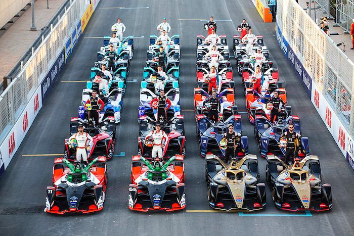 アウディ:フォーミュラE 2019-2020シーズン開幕戦 サウジアラビア。レース2でディ グラッシが2位表彰台を獲得
