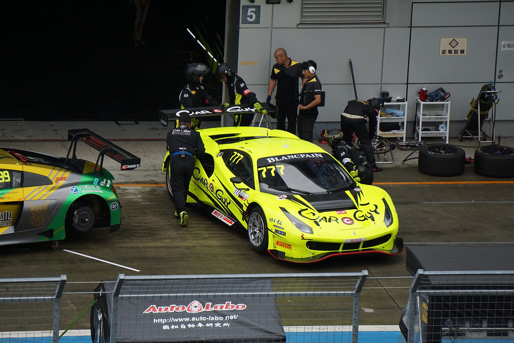 CARGUY Racing フェラーリ488 GT3