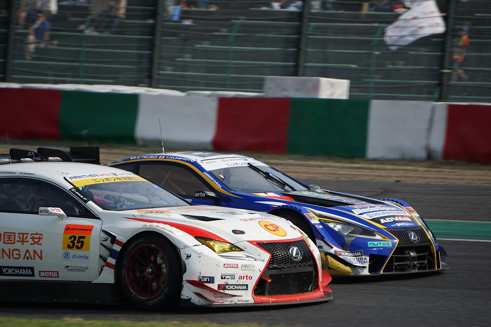 LEXUS TEAM WedsSport BANDOH/ WedsSport ADVAN LC500 & Panther arto Team Thailand/arto RC F GT3