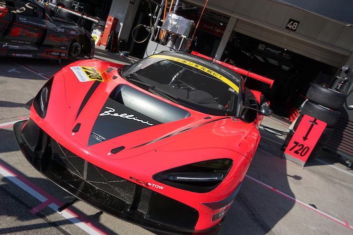 マクラーレン・カスタマーレーシング・ジャパンの720S GT3