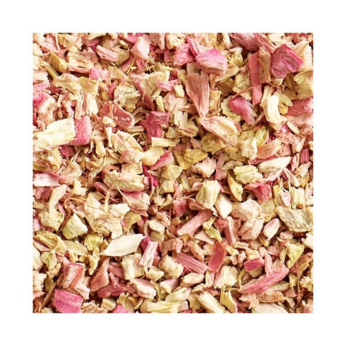RHUBARB AND GINGER TEA
