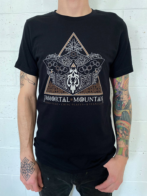 Immortal Mountain T-shirt - black