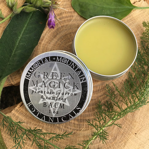 Green Magick herbal balm