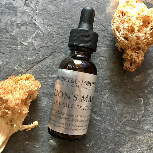 Lion's Mane Mushroom double extract