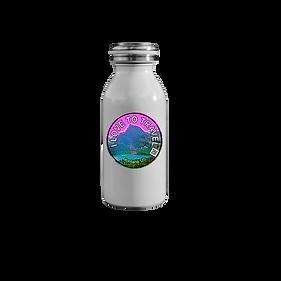 Water bottle   Hydro flask with sticker (travelmagnet sticker)