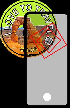 Phone QR code scan