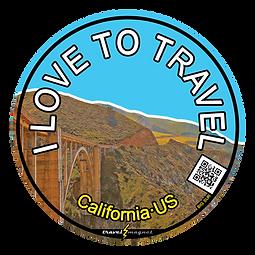 California's Big Sur Sticker