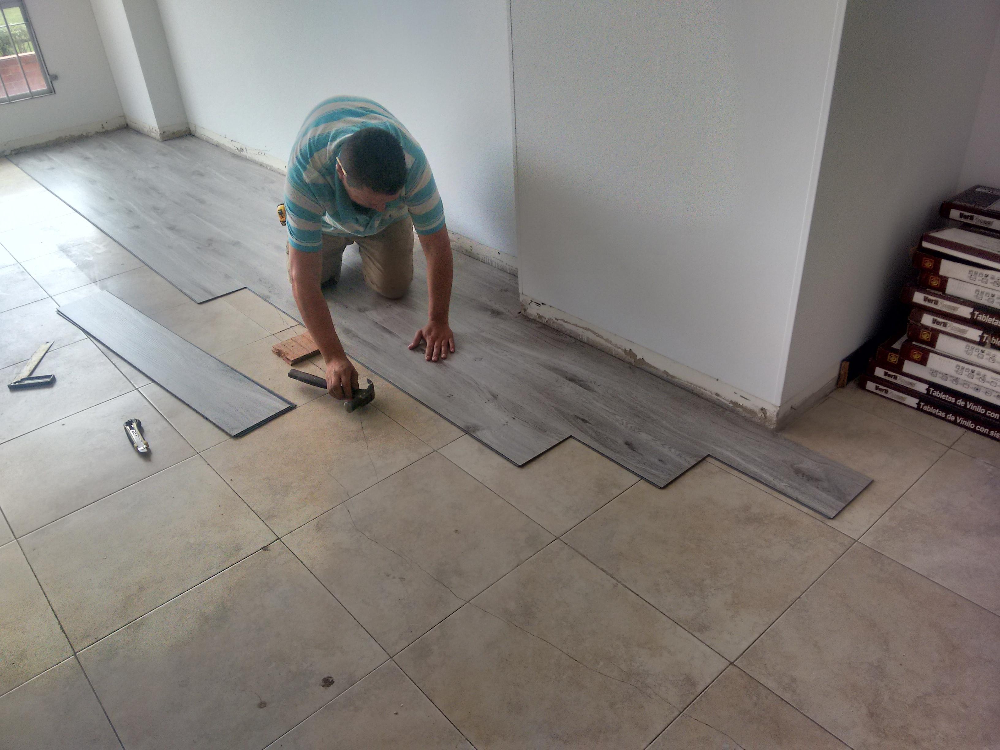 Reparaciones de pisos.
