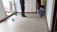 PISO VINILO PVC CLIC INSTALADO