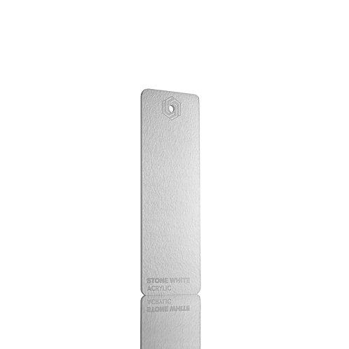 Acrílico - Stone White 3mm