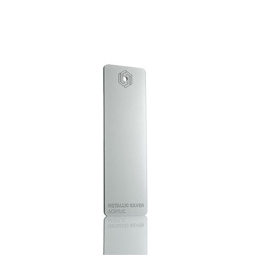 Acrílico - Metallic Silver 3mm