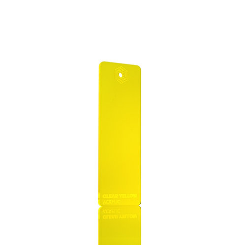 Acrílico - Clear Yellow 3mm
