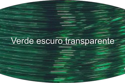 PET-G HD  (1kg - 1,75mm) - Verde escuro transparente