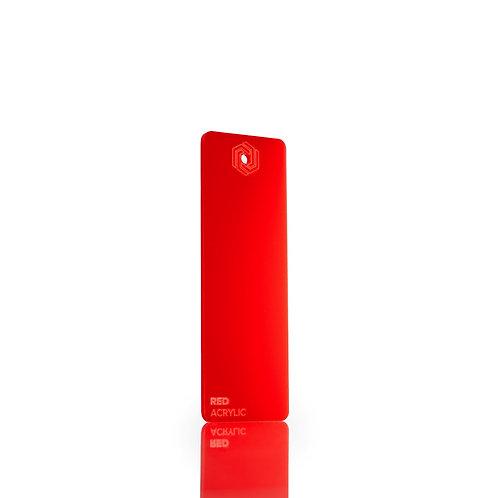 Acrílico - Red 3mm