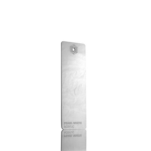 Acrílico - Pearl White 3mm