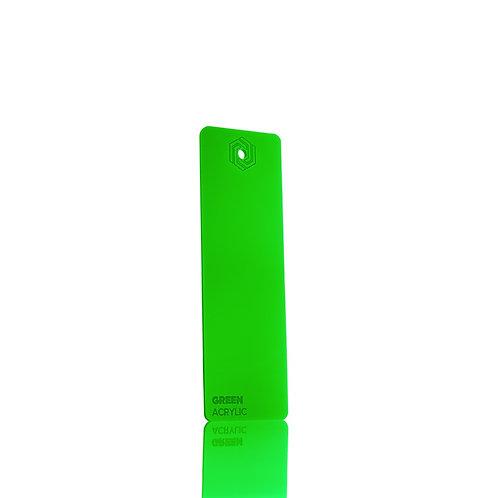 Acrílico - Green 3mm