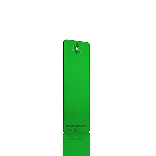 Acrílico - Clear Green 3mm