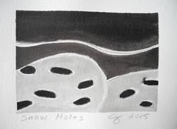 Snow Holes